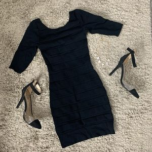 Mango// body con dress size small